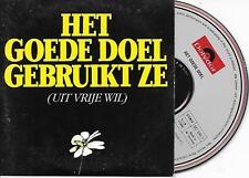 HET GOEDE DOEL - Uit vrije wil CD SINGLE 4TR Cardsleeve 1988 (POLYDOR) Holland