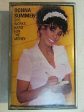 DONNA SUMMER SHE WORKS HARD FOR THE MONEY ORIGINAL 1983 CASSETTE TAPE TESTED OOP
