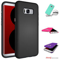 For Samsung Galaxy S10 e S9 S8 Plus Shockproof Protective Hybrid Rubber Case