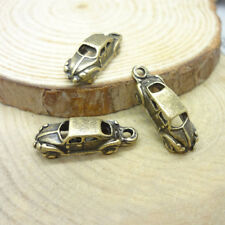 50x Vintage car shaped charms,cute charms for DIY,bronze color,retro car charms