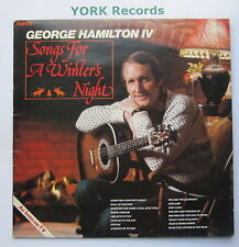 GEORGE HAMILTON IV - Songs For A Winters Night - Ex Con LP Record Ronco RTL 2082