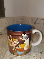 Vintage Walt Disney Snow White and the Seven Dwarfs Coffee Mug Cup Made In Japan