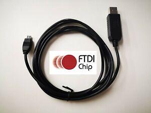 Uniden Bearcat UBC3500XLT BCT15X 800XLT + Others FTDI USB programming data cable
