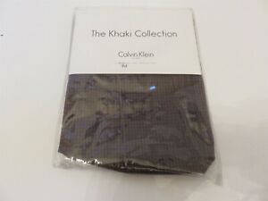 Calvin Klein Nara Smoke Plaid standard pillow Sham NIP