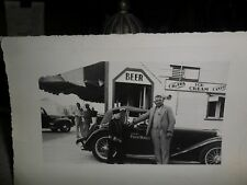 Antique Philip Morris Tobacco Cigarettes Advertising SNAPSHOT WITH JOHNNY 1949?