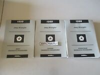 1999 Jeep Wrangler Body Chassis & Powertrain Service Manuals Manual OEM