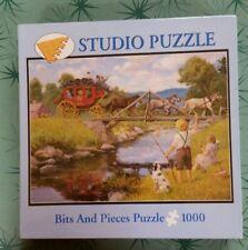 WAKEFIELD STAGE 1000 piece Bits & Pieces Studio Puzzle By Lee Stroncek 20x27 NEW