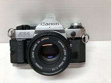 Canon AE-1 Program 35mm SLR Camera With 50mm 1.8 Lens