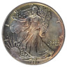 🔥 1991 $1 American Silver Eagle PCGS MS67  Beautifully Toned ASE 🔥