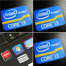 Intel Core i3 Inside Sticker Badge 2nd 3rd Generation DESKTOP Logo 25mm x 18mm