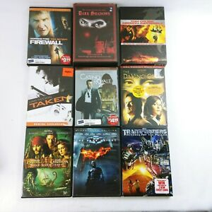 DVD's Movies TV Series Collection Assorted Titles Plus 1 Blu-ray