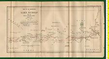 #41986 England 1896. Vintage map of the Lake Rudolf [Africa]. Royal Geog.Society