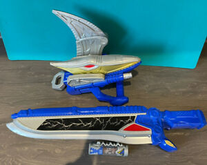 Power Rangers - Dino Charge Gold Ptera Morpher and Blue Sword + No 21 Charger