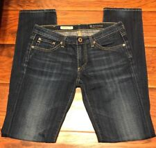 AG ADRIANO GOLDSCHMIED Women's Jeans Slim Straight Anthropology RARE PIMA COTTON