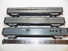 American Beauty Ho Scale New York Central 85' Passenger set Built Craftsman
