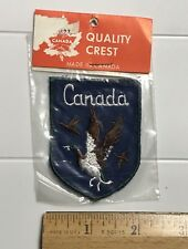 NIP Flying Canada Goose Canadian Geese Souvenir Embroidered Badge Patch
