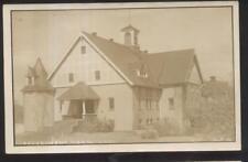 RP Postcard AMES Iowa/IA  Local Area University/College Experimental Barn 1910's