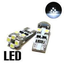 2x OPEL INSIGNIA 2.0 Bianco 8smd LED CANBUS NESSUN ERRORE LAMPADINE TARGA GRATIS xe7