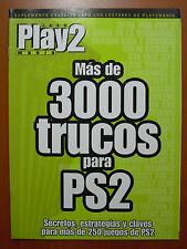 Más de 3000 trucos de Play2Manía: secretos, estrategias y claves para PS2 PStwo