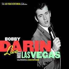 Live from Las Vegas [Digipak] by Bobby Darin (CD, Apr-2005, Capitol/EMI Records)