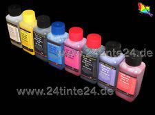 8 x 250ml Pigment Tinte Refill Ink R800 R1800 R 800 1800 T0540 T0541 T0542 T0544