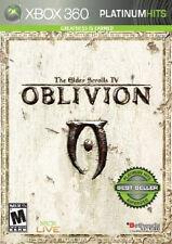 The Elder Scrolls IV: Oblivion - Platinum Hits (Xbox 360, 2008) *(SEALED)*