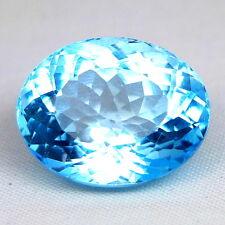 TOP TOPAZ  : 24,16 Ct Natürlicher Blau Topas aus Brasilien