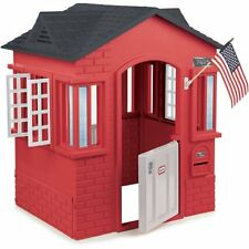 Little Tikes Cape Cottage Playhouse, Red W