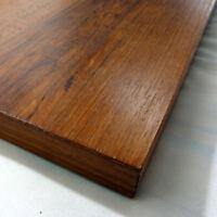 Regalboden Teak, 90 x 20 cm (Regalbrett), Echtholzfurnier