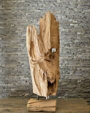 Holzskulptur Wurzel Holzkunst Treibholz Kunst Teak Statue Deko Holzobjekt Ho1634