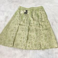 Ann Taylor Women's A Line 100% Silk Skirt Size 0 New Career