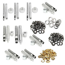 100pcs 3mm - 20mm Eyelets with Grommet Setting Hand Tool Kit for Repair Clothes