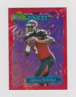 2015 Retro Topps Finest Refractor Rookie RC Jameis Winston Red /99 Buccaneers