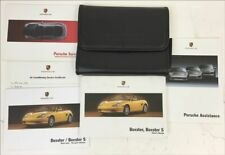 Porsche Genuine Used Boxster Owners Wallet
