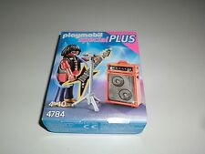 Playmobil special plus 4784 musiciens Guitare City Life rock star NOUVEAU & OVP