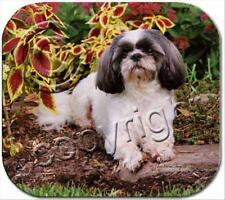 Shih Tzu Gray Puppy Cut Dog Computer Mouse Pad Mousepad