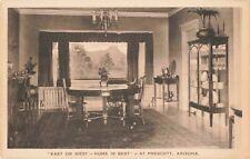 Postcard East or West Home is Best at Prescott Arizona