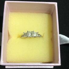 1.5ct diamond 18k white gold ring used