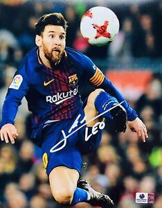 Lionel Messi Signed Autographed 8x10 Photo Argentina - COA GV 925443