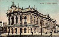 Anvers Antwerpen Belgien  ~1910 Le Théâtre Flammand Partie am Theater Personen