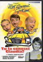 DVD TU LA CONOSCI CLAUDIA? (EX RENTAL) ALDO GIOVANNI & GIACOMO Film Movie