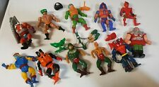 He-man Master Of the Universe 11 figures unclean all still good just dirty