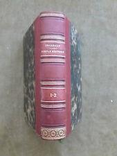 MISTRISS INCHBALD. SIMPLE HISTOIRE. DAUTHEREAU.1826. en 2 tomes. veau rouge orné
