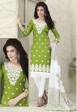 Radiant Cotton Embroidered Salwar Suit Dress Material D.NO NKT1129