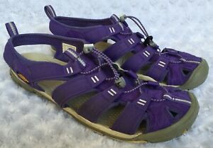 KEEN Womens Clearwater CNX Purple Sports Sandals (Size 11)