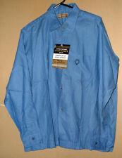 1950's N.O.S. Pennleigh Vintage 100% Rayon Linen Shirt- 16-16-1/12-L !