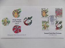 First Day Cover 1993 Malaysia Bunga Bunga Liar Siri II Wild Flowers Sampul Surat