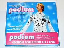 Claude François PODIUM Benoît Poelvoorde Michel Polnareff Soundtrack CD DVD New