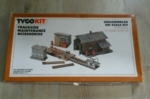 H0 scale TYCO KIT TRACKSIDE MAINTENANCE ACCESSORIES no.7775