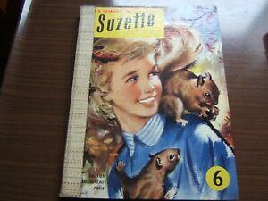 Recueil reliure album La semaine de Suzette n°6  de 1956 du n°14 au n°26